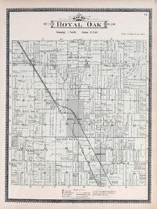 1896, Royal Oak Township, Urban Rest, Red Run, Michigan, United States