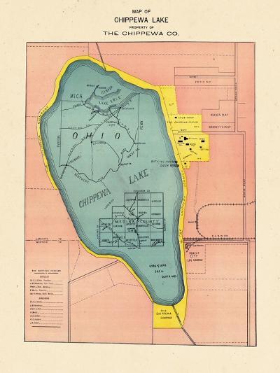 1897, Chippewa Lake, Ohio, United States--Giclee Print