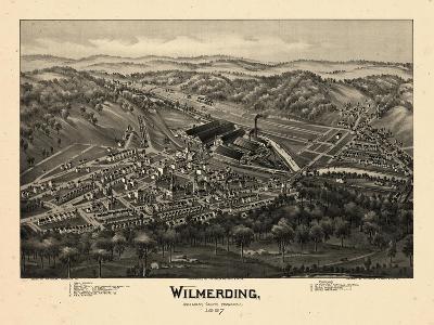 1897, Wilmerding Bird's Eye View, Pennsylvania, United States--Giclee Print