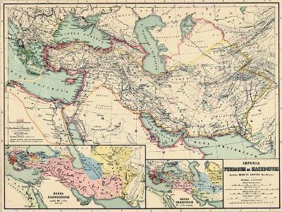 1898, 500 BC, Egypt, Libya, Armenia, Iran, Iraq, Saudi Arabia, Syria, Turkey, Jordan--Giclee Print