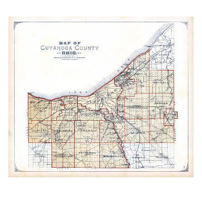 1898, Cuyahoga County, Ohio, United States--Giclee Print
