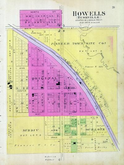 1899, Howells, Bushville, Nebraska, United States--Giclee Print