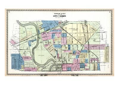 1899, Warren City - North, Ohio, United States--Giclee Print