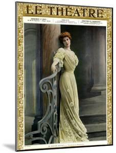 1900s France Le Theatre Magazine Cover