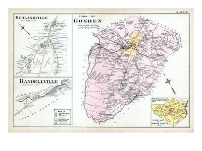 1903, Goshen Town, Durlandville, Randellville, New York, United States--Giclee Print