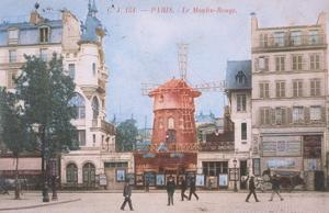 1904 Carte Postal Moulin Rouge