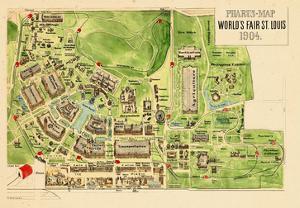 1904, Saint Louis World's Fair Published by Pharus, Missouri, United States