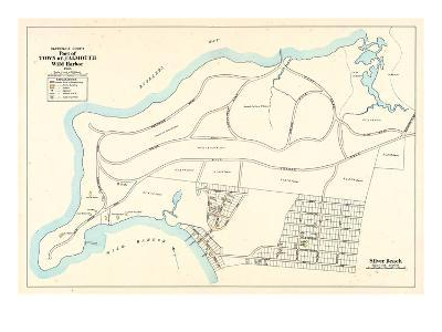 1905, Falmouth Town - Wild Harbor, Silver Beach, Massachusetts, United States--Giclee Print