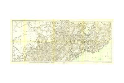 1905 Kirin Harbin Vladivostok Map-National Geographic Maps-Art Print