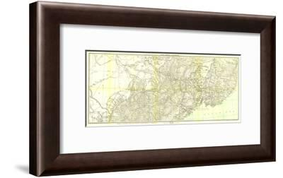 1905 Kirin Harbin Vladivostok Map-National Geographic Maps-Framed Art Print