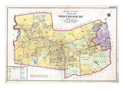 1905, West Roxbury, Massachusetts, United States--Giclee Print