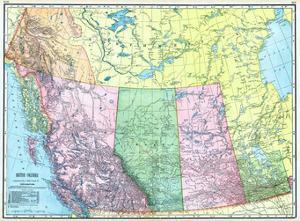 1906, Canada, Alaska, Alberta, British Columbia, Saskatchewan, North America, British Columbia
