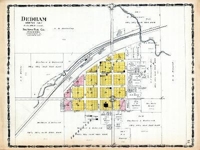 1906, Dedham, Iowa, United States--Giclee Print