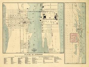 1907, West Palm Beach, Lake Worth and Palm Beach, Florida 1907, Florida, United States