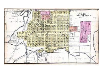 1908, Denison, Iowa, United States--Giclee Print