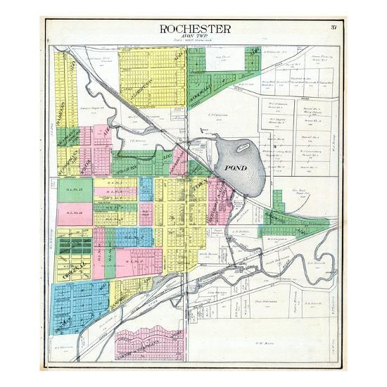 1908 Rochester Michigan United States Giclee Print By Art Com