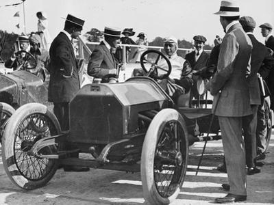 1909 Lancia Beta, Wl Stewart at the Wheel, C1909-C1920