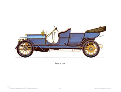 1909 Lancia