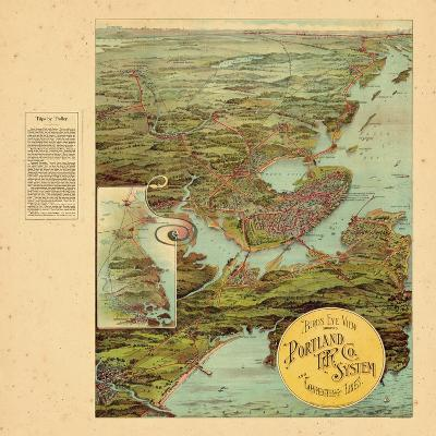 1909, Portland, Maine--Giclee Print