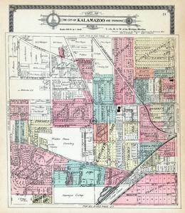 1910, Kalamazoo City, Kalamazoo College, Michigan, United States