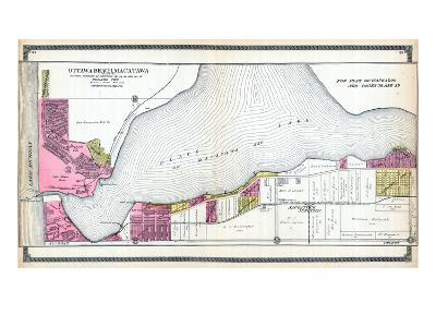 1912, Ottawa Beach, Macatawa, Saugatuck Junction, Black Lake, Michigan, United States--Giclee Print