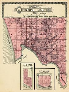 1912, Spring Lake Township, Ferrysburg, Oak Park, Sunny Side, Belle Point, Lloyds Bayou, Michigan