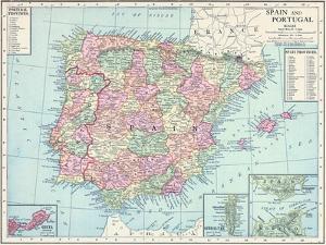 1913, France, Portugal, Spain, Europe