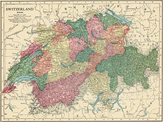 1913, Switzerland, Europe Giclee Print by | Art.com