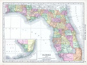 1913, United States, Florida, North America