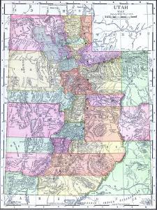 1913, United States, Utah, North America