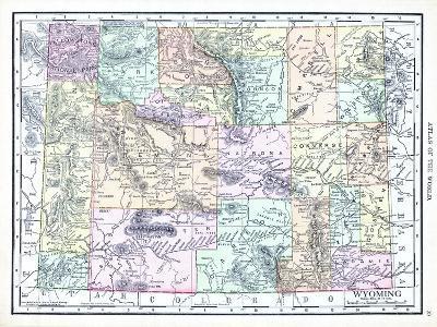 1913, United States, Wyoming, North America--Giclee Print