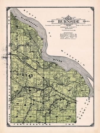 1914, Burnside Township, Eggleston, Cannon Junction, Minnesota, United States