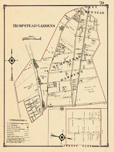 1914, Hempstead Garden, New York, United States--Giclee Print