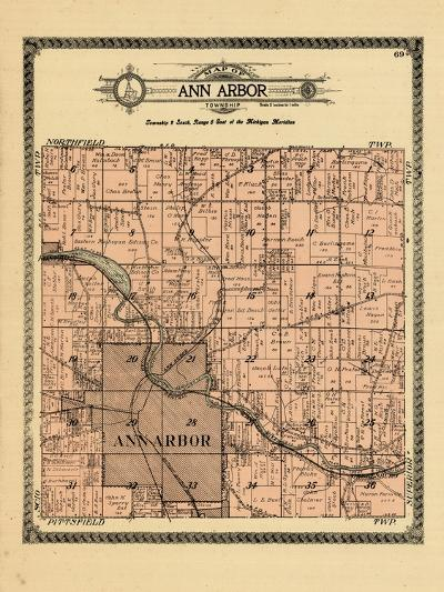 1915, Ann Arbor Township, Michigan, United States--Giclee Print