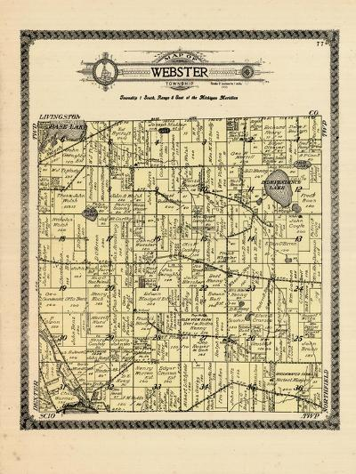 1915, Webster Township, Michigan, United States--Giclee Print