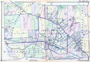 1916, Lower Gwynedd, Upper Dublin and Whitpain Townships, Ambler, Pennsylvania, United