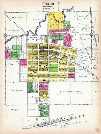 1916, Traer, Iowa, United States--Giclee Print