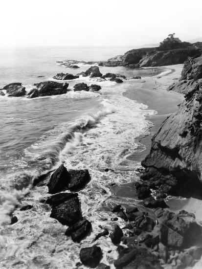 1918 Arch Beach Laguna, California--Photographic Print