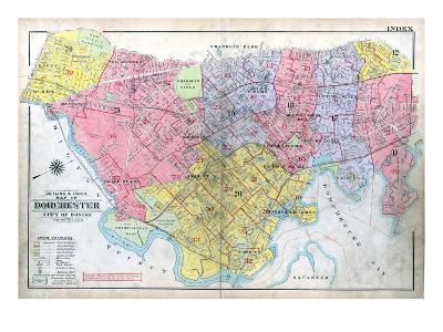 1918, Boston, Dorchester, Massachusetts, United States--Giclee Print