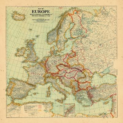 1920, Europe--Giclee Print