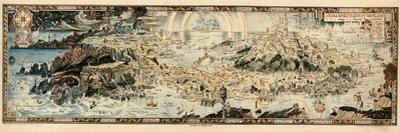 1920, Fairyland Newly Discovered Anciente Mappe