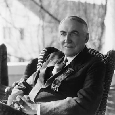 1920 Republican Candidate for U.S. President Warren Harding--Photo