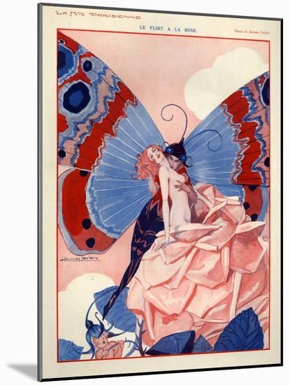 1920s France La Vie Parisienne Magazine Plate-null-Mounted Giclee Print