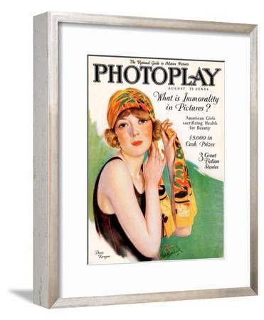 1920s UK Photoplay Magazine Cover