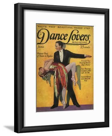 1920s USA Dance Lovers Magazine Cover
