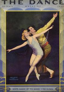 1920s USA The Dance Magazine Cover