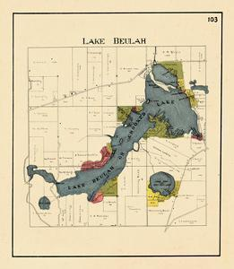 1921, Lake Beulah, Wisconsin, United States