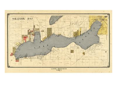 1921, Lake Geneva 1921, Wisconsin, United States--Giclee Print