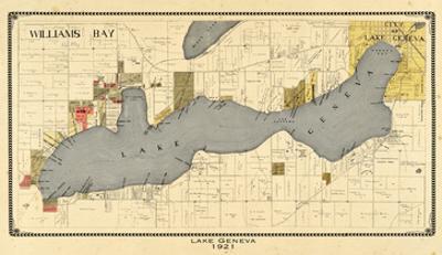 1921, Lake Geneva 1921, Wisconsin, United States