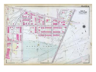 1923, Olney Park, Philadelphia, Pennsylvania, United States--Giclee Print